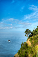Pacific View, North Island Viewpoint, Samuel H. Boardman State Park, Oregon