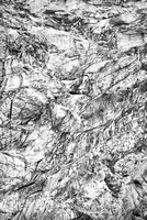 Angel Glacier Abstract Black & White, Jasper National Park, Alberta