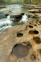 Potholes and Cascades, Cataract Falls State Recreation Area, Indiana
