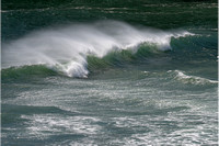 Wind-Blown Surf, Whaleshead Viewpoint, Samuel H. Boardman State Park, Oregon