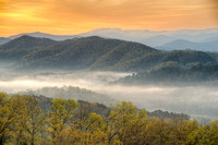 Foothills Parkway Sunrise, Tennessee