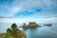 Thunder Rock Cove Viewpoint, Samuel H. Boardman State Park, Oregon