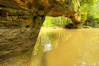 Rock Bridge, Gladie Site, Indian Creek & Sheltowee Trace, Red River Gorge, Daniel Boone National Forest, Kentucky