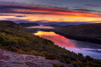 Lake of the Clouds Sunrise, Lake of the Clouds Overlook, Porcupine Mountains State Park, Michigan
