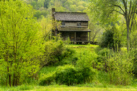 Old Cabin, Gladie Site, Red River Gorge, Daniel Boone National Forest, Kentucky