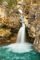 Beauty Creek Waterfall, Jasper National Park, Alberta