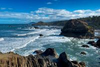Pacific Coast from Otter Point State Recreation Area, Oregon