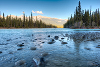 thabasca River, Meeting of the Waters, Jasper National Park, Alberta