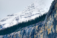 Ridge Lines, Icefields Parkway, Banff National Park, Alberta