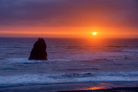 South Beach Sunset, Curry County, Oregon