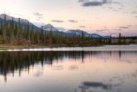 Athabasca River at Dawn, Jasper National Park, Alberta