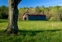 Dan Lawson Barn, Cades Cove, Great Smoky Mountains National Park, Tennessee