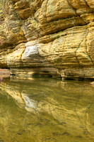 Illinois Canyon Reflections, Starved Rock State Park, Illinois