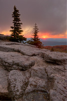 Bear Rocks Sunrise, Dolly Sods Wilderness, Monongahela National Forest, West Virginia