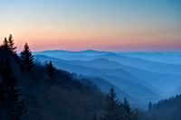Oconaluftee Valley Sunrise, Great Smoky Mountains National Park, North Carolina