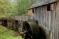 Grist Mill, Cades Cove, Great Smoky Mountains National Park, Tennessee