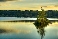 Reservoir Sunset, Eagle Creek Park, Marion County, Indiana