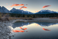 Reflecting Pools, Kootenay Plains, David Thompson Country, Alberta
