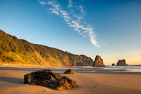 China Creek Beach Evening, Samuel H. Boardman State Park, Oregon