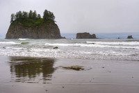 Seastacks and Surf, Second Beach, Olympic National Park, Washington
