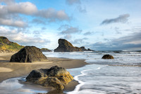 Myers Beach Evening, Pistol River State Park, Oregon