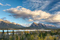 Ex Coelis Peaks from Preacher's Point, David Thompson Country, Alberta