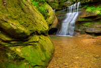 Tributary Waterfall, Cedar Falls Area, Hocking Hills State Park, Ohio