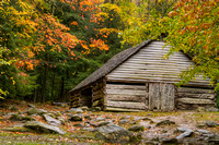 Ogle's Cabin Outbuilding, Great Smoky Mountains National Park, Tennessee