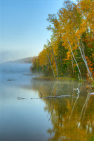 Council Lake in Morning Mist, Hiawatha National Forest, Michigan