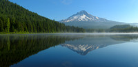 Mount Hood from Trillium Lake Panorama, Mount Hood National Forest, Oregon
