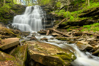Erie Falls, Ganoga Glen, Ricketts Glen State Park, Pennsylvania
