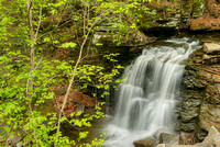 Big Run Falls, State Game Lands 13, Pennsylvania