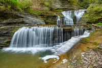 Buttermilk Creek, Buttermilk Falls State Park, New York