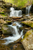 Glen Leigh Waterfalls, Ricketts Glen State Park, Pennsylvania