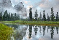 El Capitan Meadow Reflections, Yosemite National Park, California