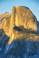 Half Dome from Glacier Point at Sunset, Yosemite National Park, California