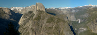 Half Dome from Glacier Point Panorama, Yosemite National Park, California