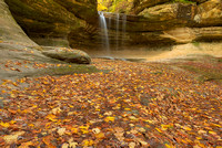 Waterfall, LaSalle Canyon, Starved Rock State Park, Illinois