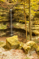 St. Louis Canyon Waterfall, Starved Rock State Park, Illinois
