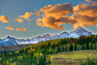 Sneffels Range Sunrise, County Road 9, Uncompahgre National Forest, Colorado