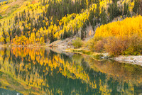 Crystal Lake Reflections, Uncompahgre National Forest, Colorado