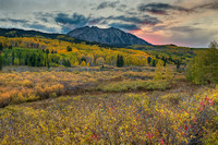 Beckwith Sunrise, Kebler Pass, Gunnison National Forest, Colorado