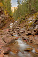 Tributary Waterfall, South Mineral Creek, San Juan National Forest, Colorado