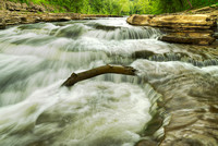 Mill Creek Rapids, Cataract Falls State Recreation Area, Indiana