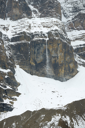 Crowfoot Mountain Avalanche, Banff National Park, Alberta