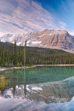 Bow River Outlet Morning, Banff National Park, Alberta