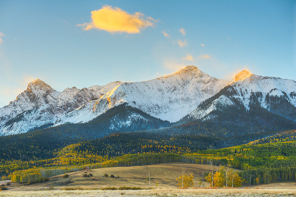Sneffels Range Sunrise, Last Dollar Road, Uncompahgre National Forest, Colorado
