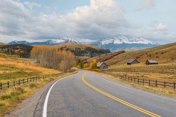 Last Dollar Road, Uncompahgre National Forest, Colorado