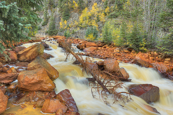 Red Mountain Creek, Uncompahgre National Forest, Colorado