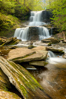 Tuscarora Falls, Ganoga Glen, Ricketts Glen State Park, Pennsylvania